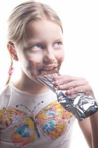 Menina Chocolate